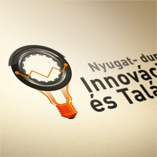 Innovációs kiállítás és találmányi vásár logó