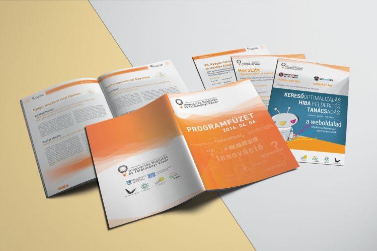 Innovációs kiállítás és találmányi vásár programfüzete