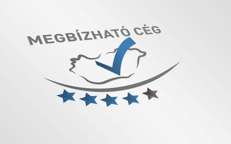 Megbízható cég logó