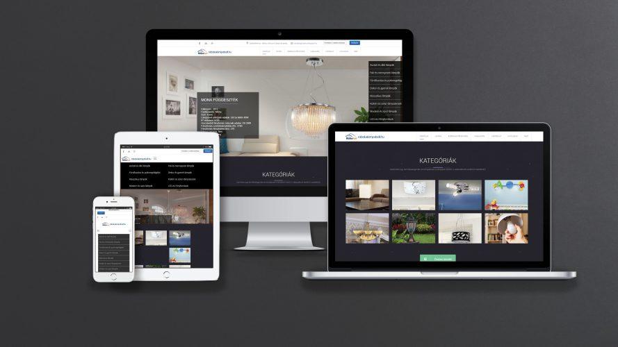Rábalux responsiv weboldala