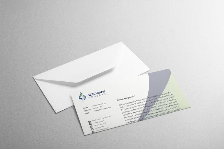 Széchenyi Projekt levélpapír