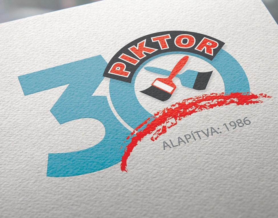 30 éves Piktor logók
