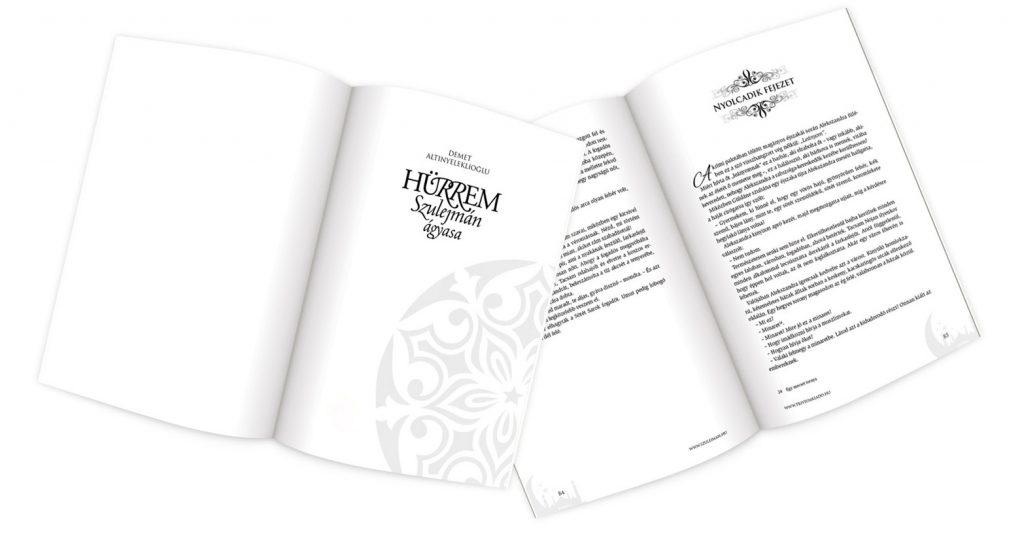 Szulejmán Ágyasa könyv belső fejezetcíme, címe