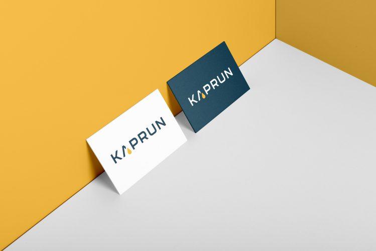 Kaprun logó és névjegykártya tervezése