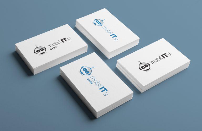 MobilIT logó tervezése