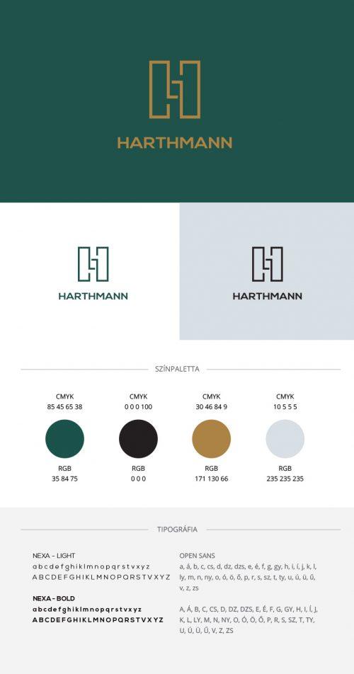 Harthmann arculat tervezése