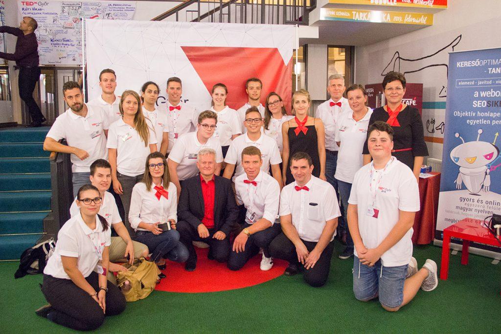 TEDxGyőr csapat
