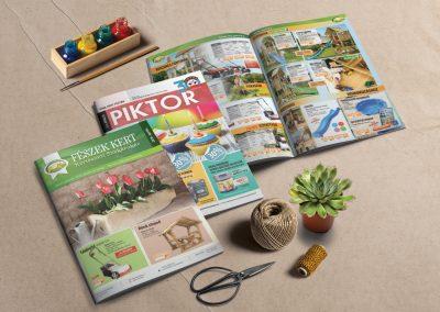 Piktor & Fészekkert áruház újság
