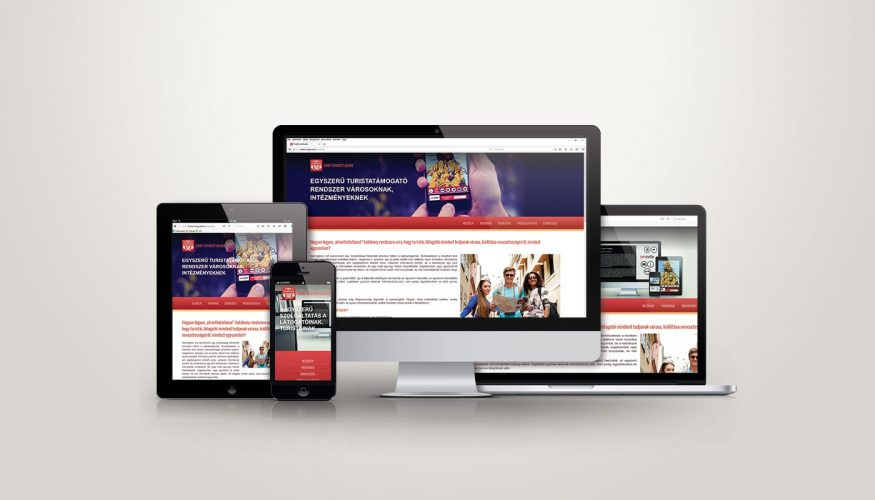 Free Tourist Guide webdesign