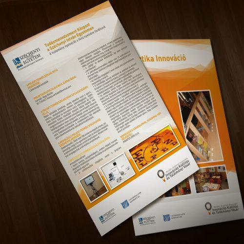 Innovációs kiállítás és találmányi vásár plakát