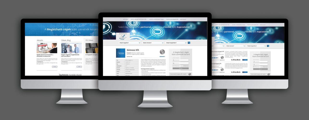 Megbízható cég webdesign