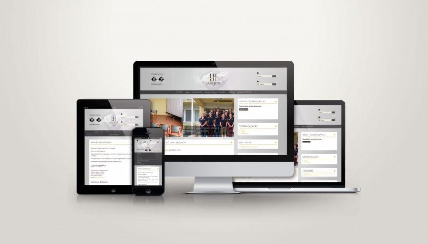 Tiszaliget Kft. responsive weboldala