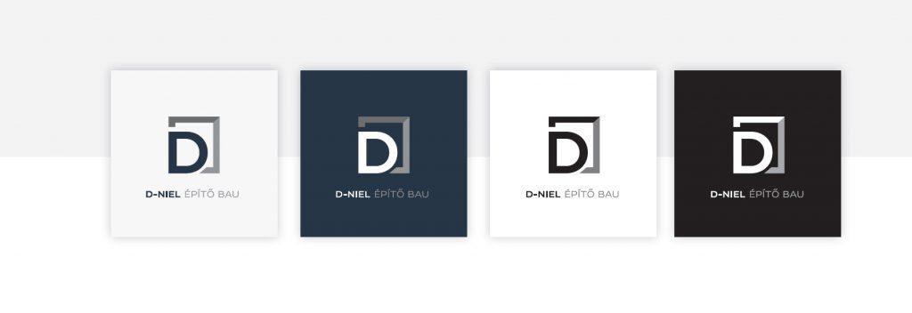 D-niel logó változatok