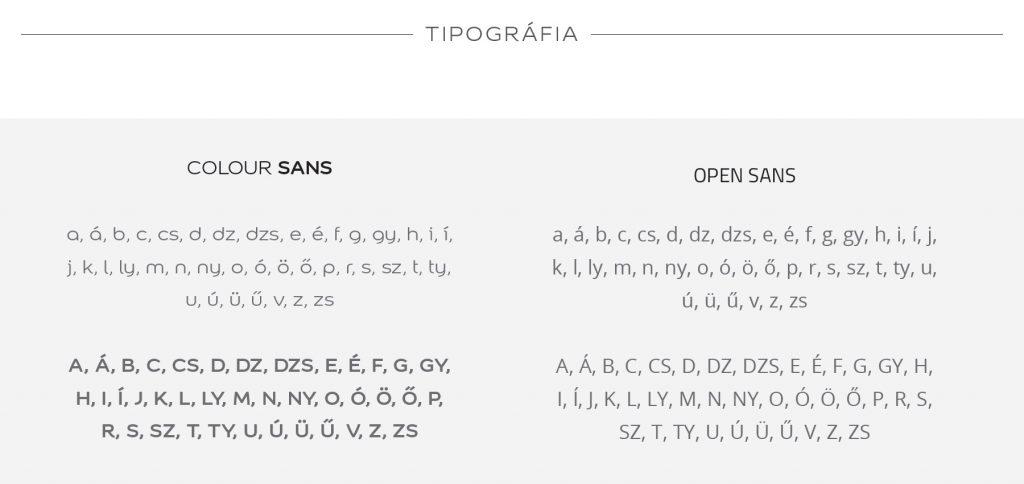 D-niel tipográfia