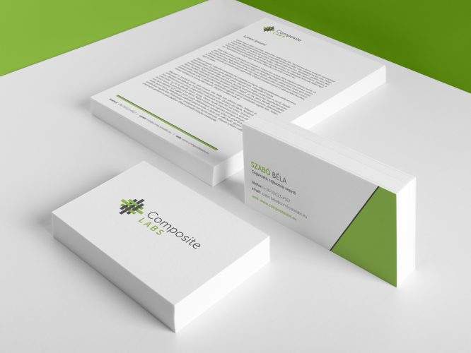altsz Composite Labs - Mevjegy, Levelpapir