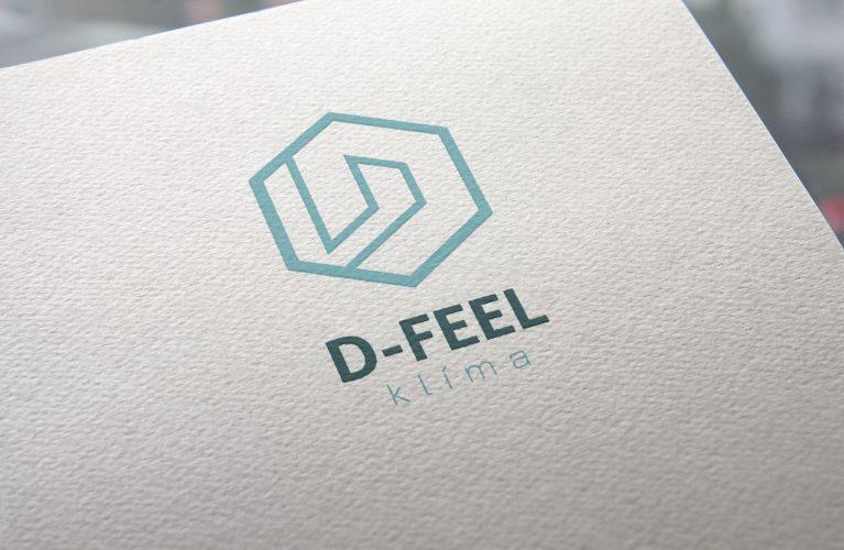 D-Feel klímalogó és arculati tervezés, Brand Boarddal