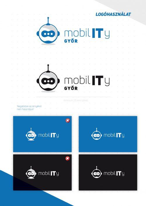 MobilIT Brand board logóváltozatok