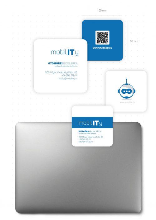 MobilIT Brand board névjegyterv