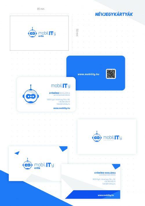 MobilIT Brand board névjegytervek