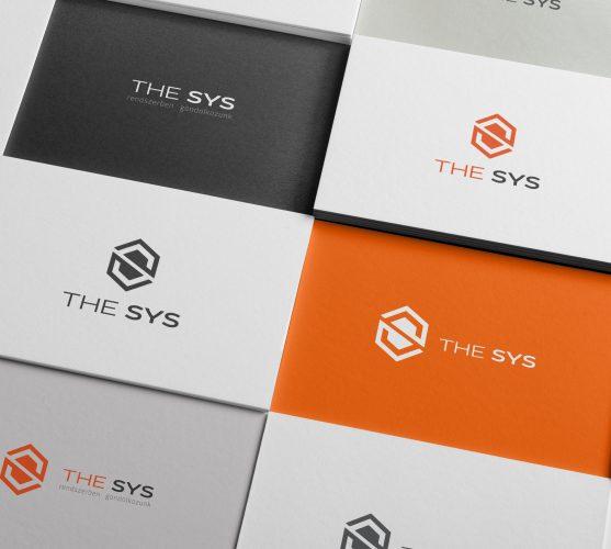 The Sys logótervezés és Brand Board szerkesztés