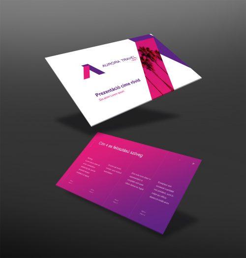 Aurora Travel prezentáció alap