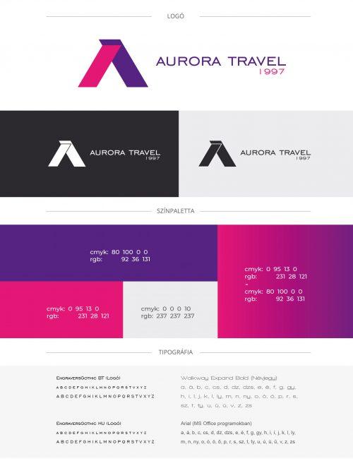 Aurora Travel logó