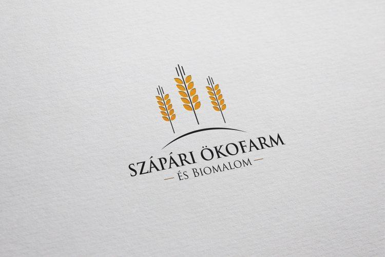 Szápári Ökofarm és Biomalom logója