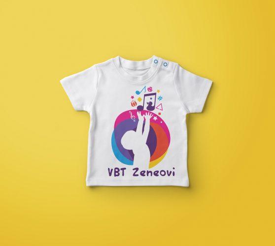 VBT Zeneovi arculati tervezése, póló